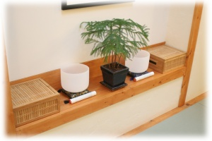dojo-altar